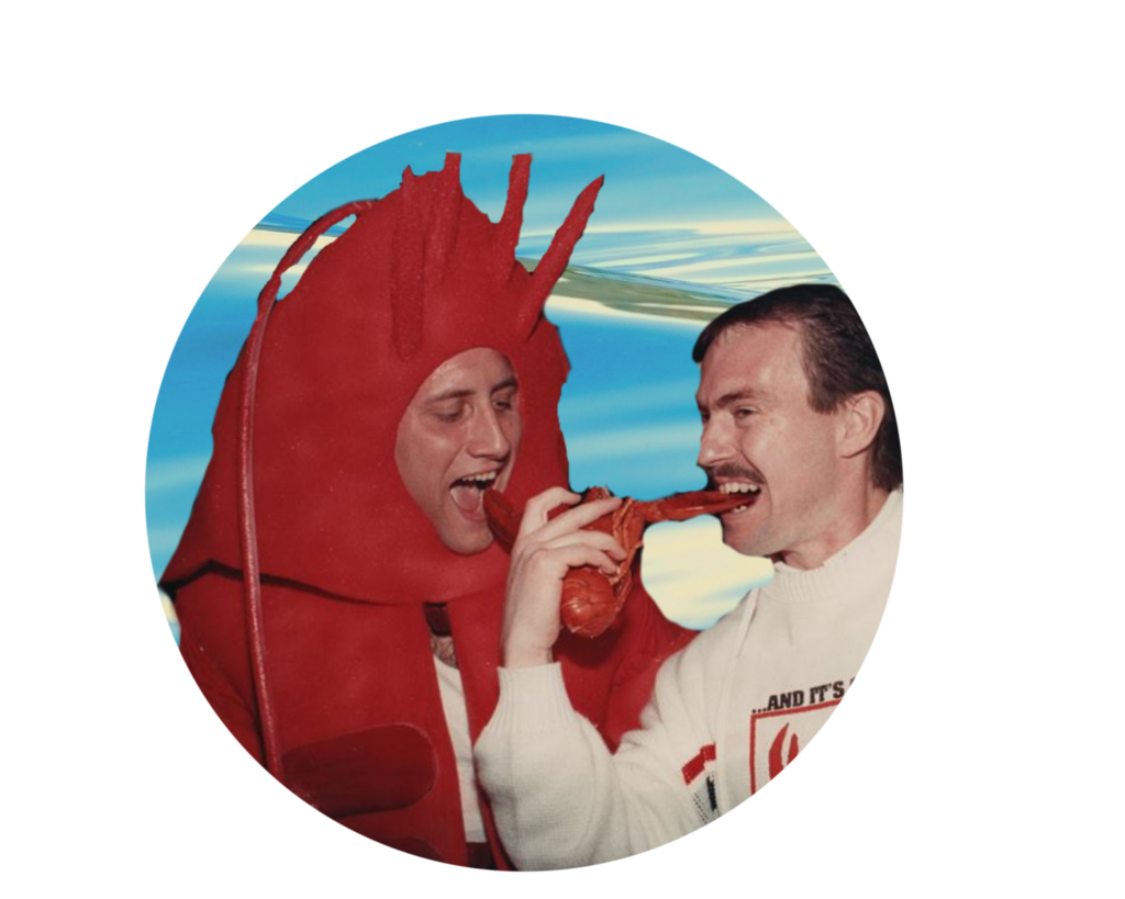 Find your lobster suit!